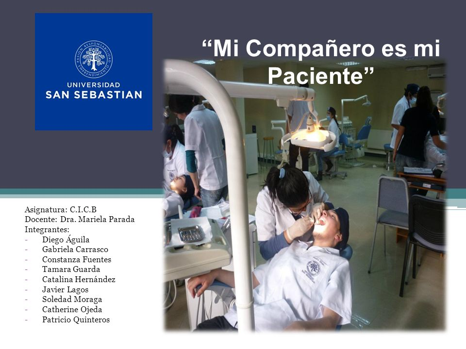 Mi Compañero es mi Paciente