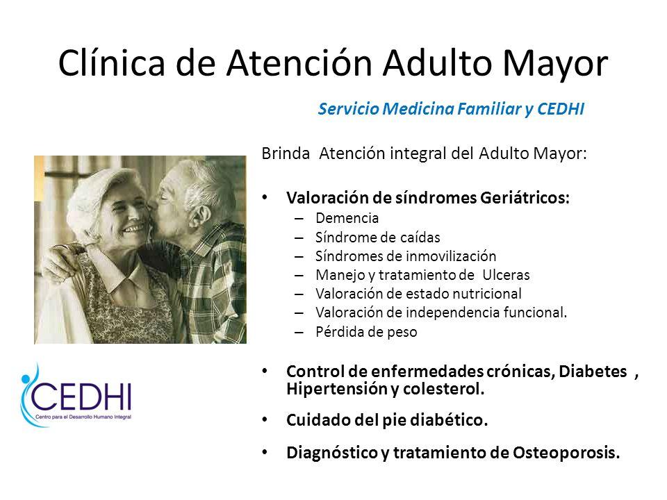 Clínica de Atención Adulto Mayor