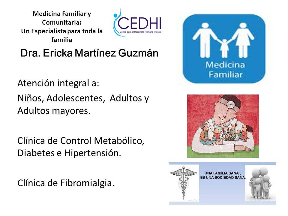 Medicina Familiar y Comunitaria: Un Especialista para toda la familia