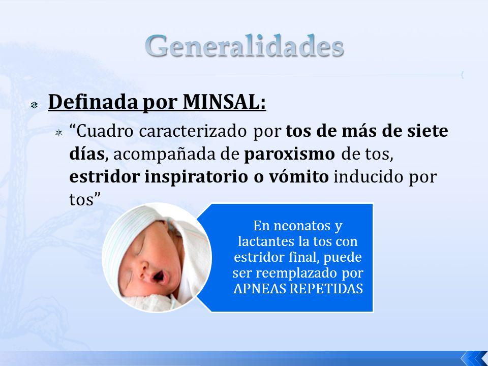 Generalidades Definada por MINSAL: