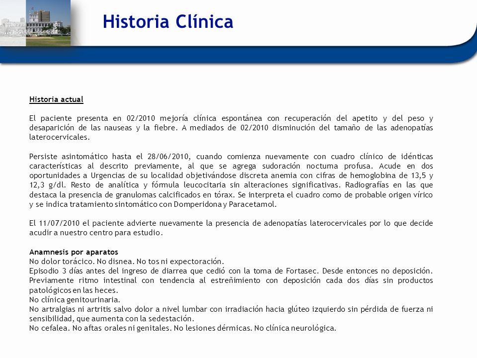 Historia Clínica Historia actual