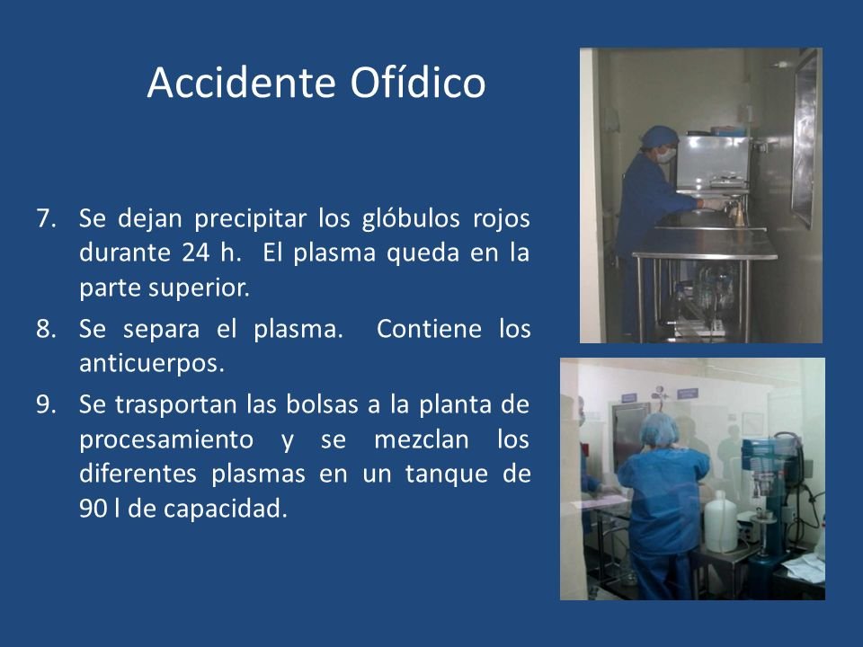 Accidente Ofídico SUERO ANTIOFÍDICO