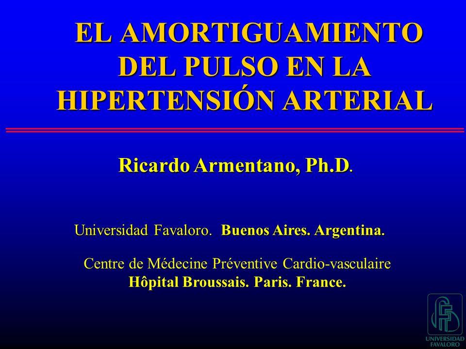 EL AMORTIGUAMIENTO DEL PULSO EN LA HIPERTENSIÓN ARTERIAL