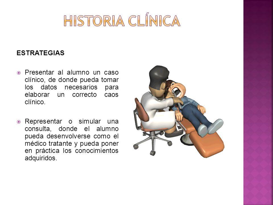 Historia clínica ESTRATEGIAS