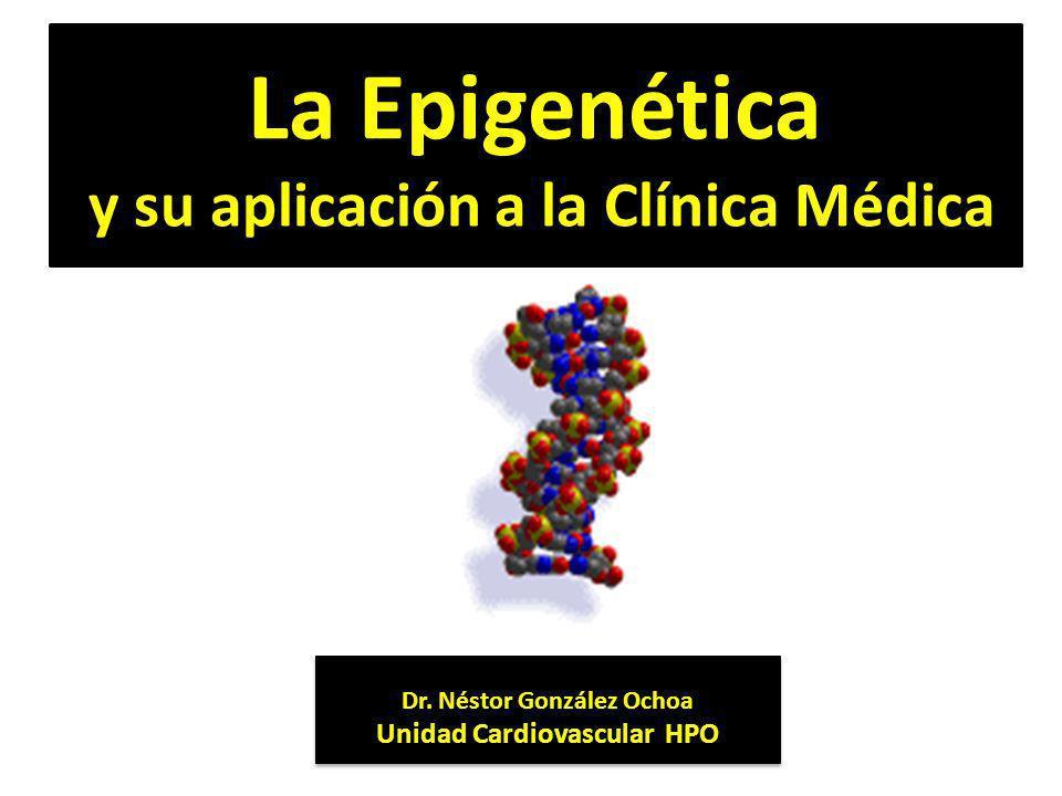 La Epigenética y su aplicación a la Clínica Médica