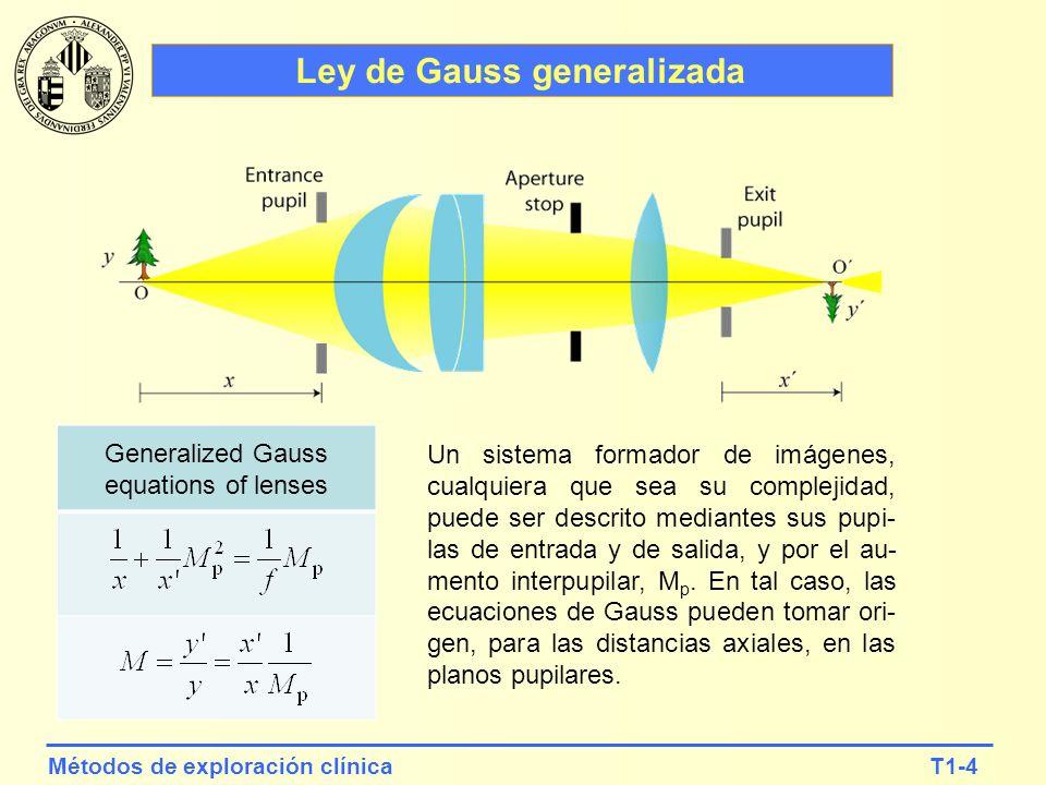 Ley de Gauss generalizada
