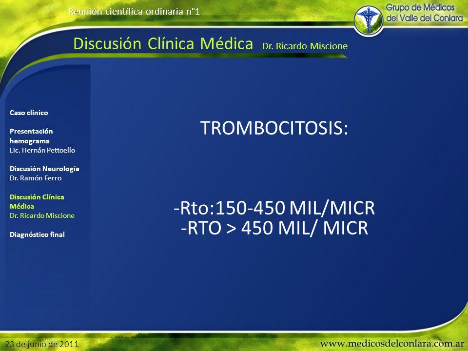 Discusión Clínica Médica Dr. Ricardo Miscione