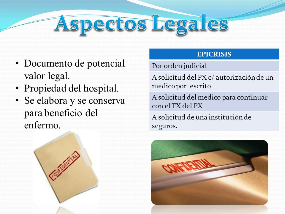 Aspectos Legales Documento de potencial valor legal.