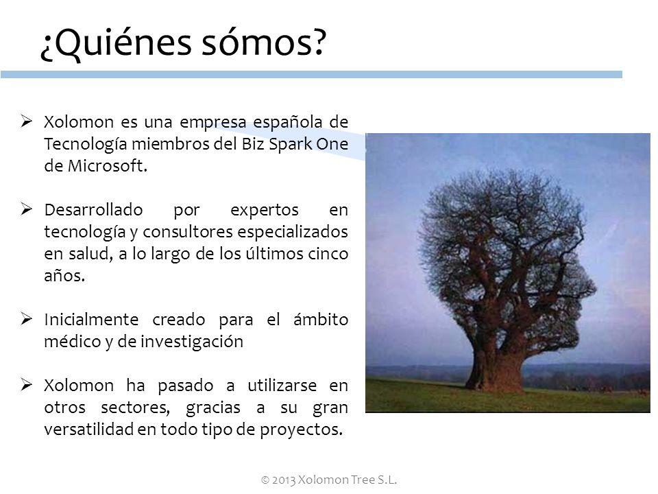 ¿Quiénes sómos Xolomon es una empresa española de Tecnología miembros del Biz Spark One de Microsoft.