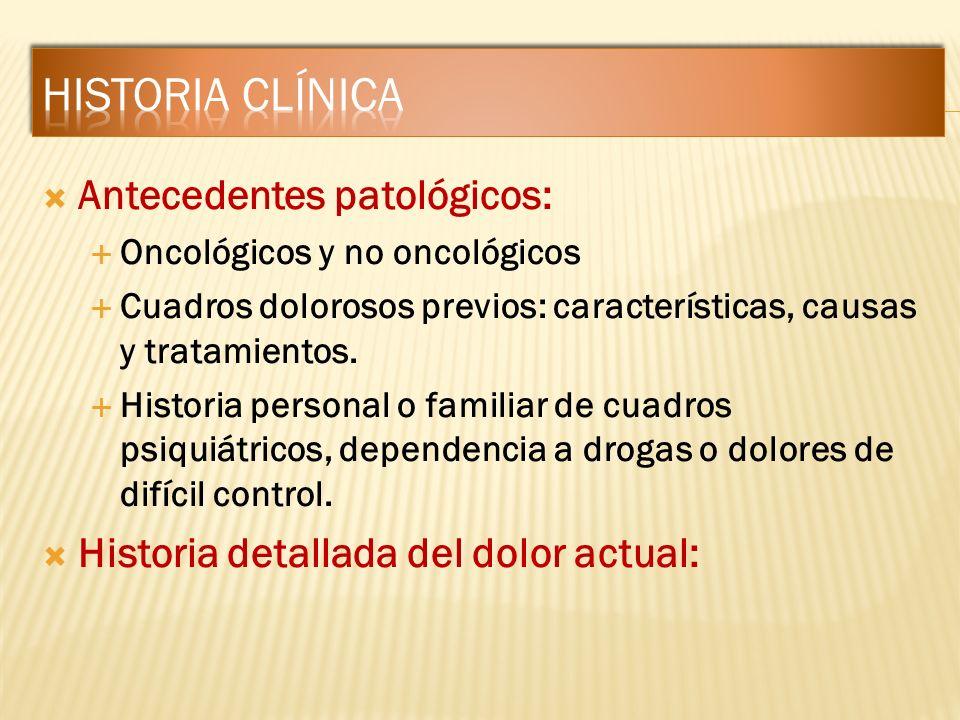 Historia clínica Antecedentes patológicos: