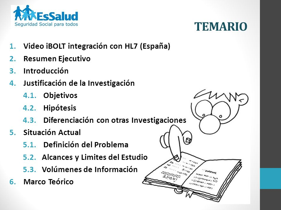 TEMARIO 1. Video iBOLT integración con HL7 (España)
