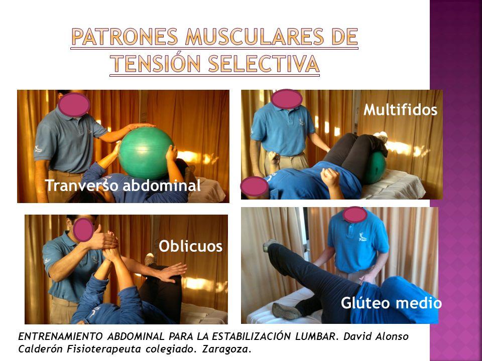PATRONES MUSCULARES DE TENSIÓN SELECTIVA
