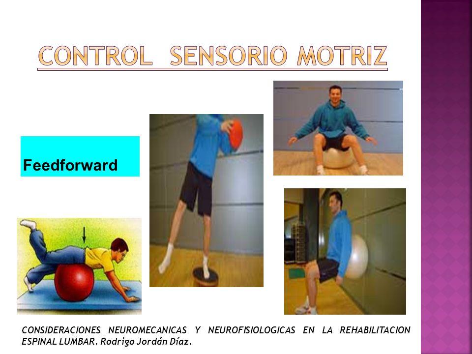 CONTROL sensorio MOTRiz