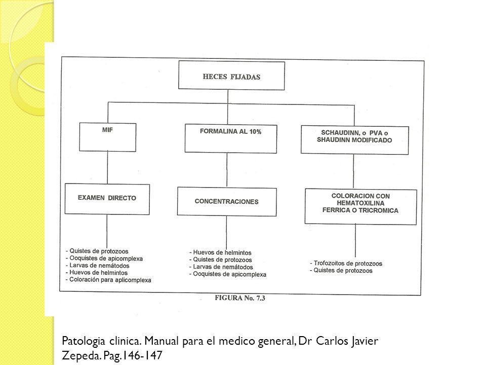 Patologia clinica. Manual para el medico general, Dr Carlos Javier Zepeda. Pag.146-147