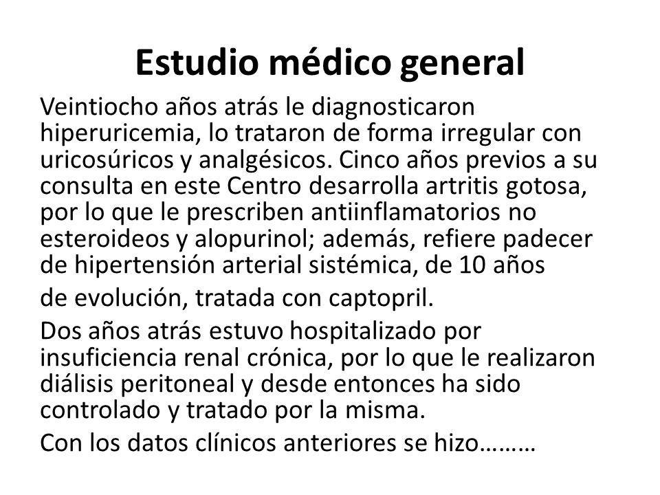 Estudio médico general