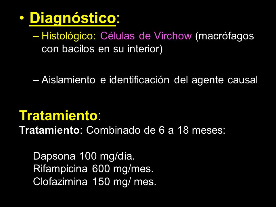 Diagnóstico: Tratamiento: