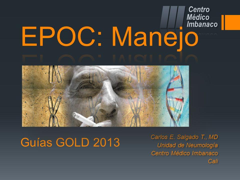 EPOC: Manejo Guías GOLD 2013 Centro Médico Imbanaco