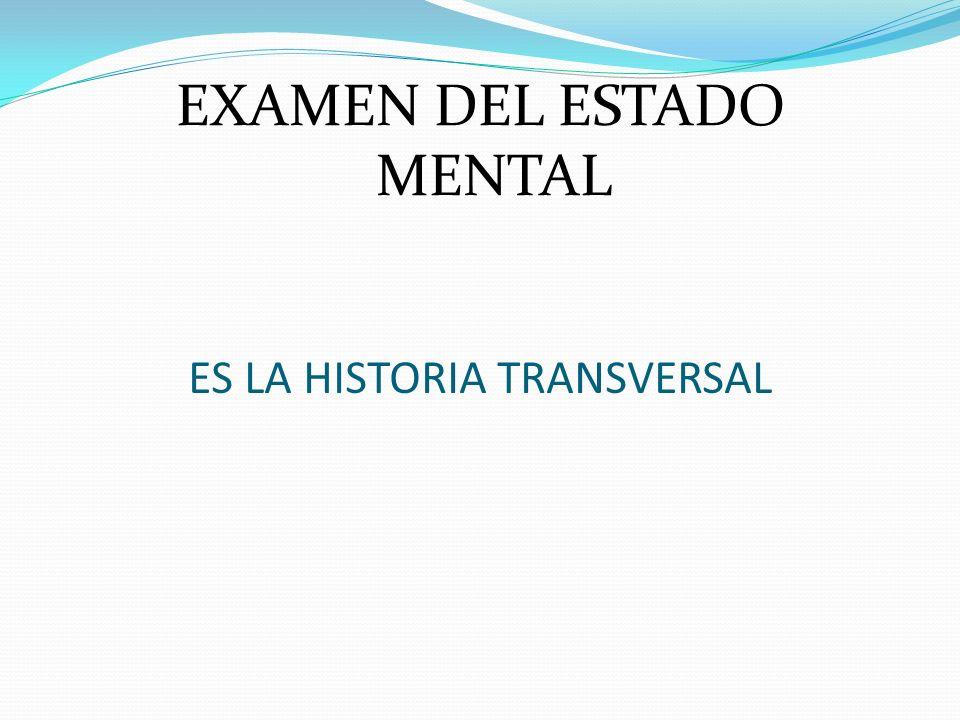 ES LA HISTORIA TRANSVERSAL