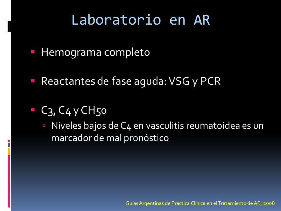 Laboratorio en AR Hemograma completo