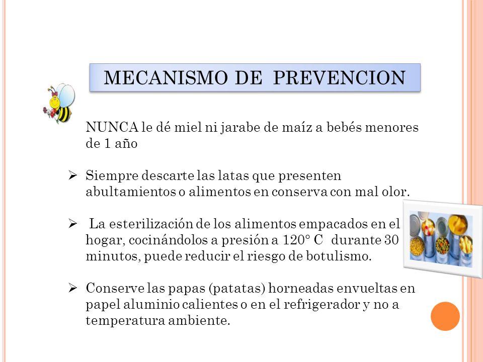 MECANISMO DE PREVENCION