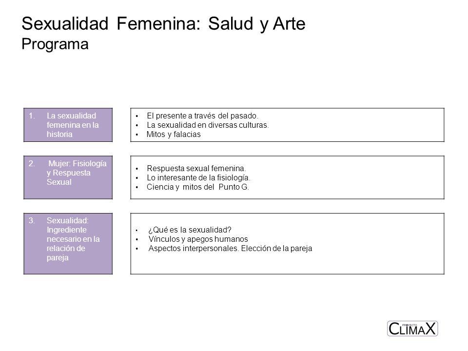Sexualidad Femenina: Salud y Arte