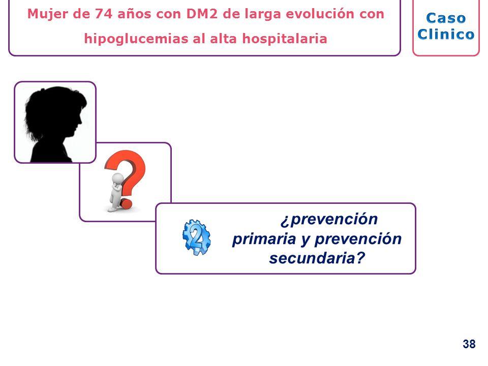 ¿prevención primaria y prevención secundaria