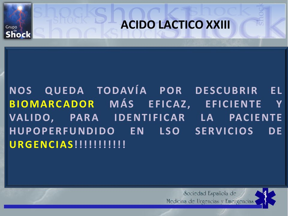 ACIDO LACTICO XXIII