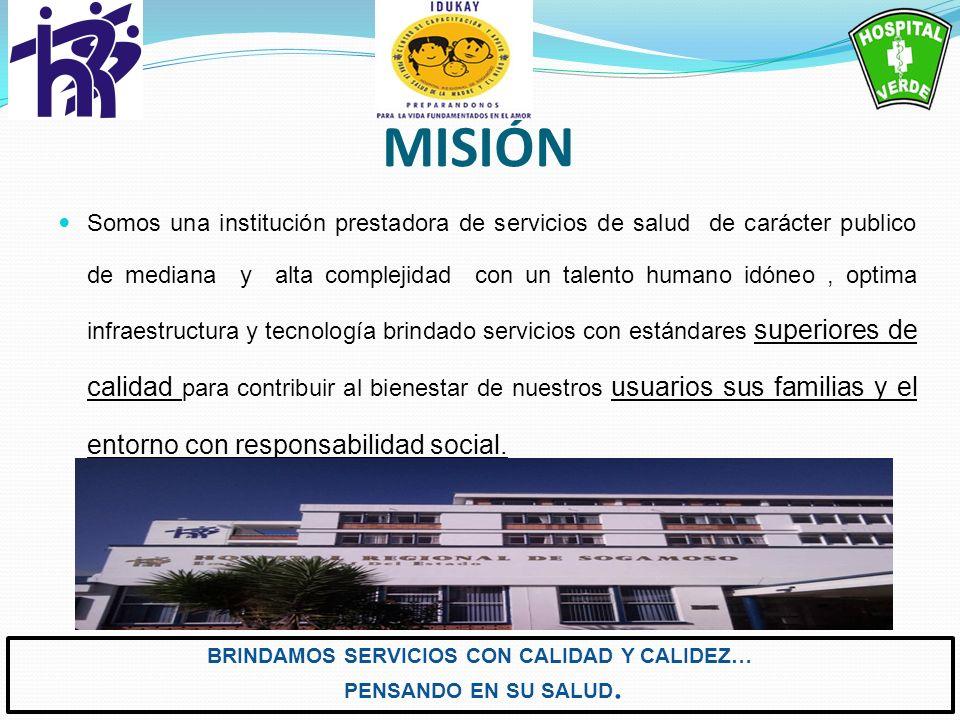 BRINDAMOS SERVICIOS CON CALIDAD Y CALIDEZ…