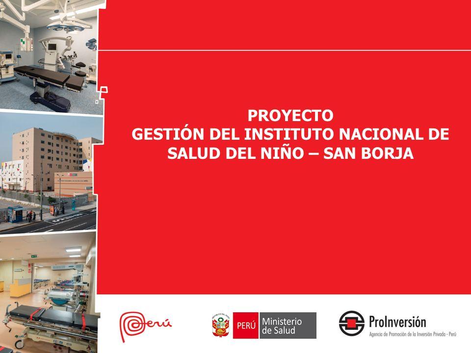 GESTIÓN DEL INSTITUTO NACIONAL DE SALUD DEL NIÑO – SAN BORJA