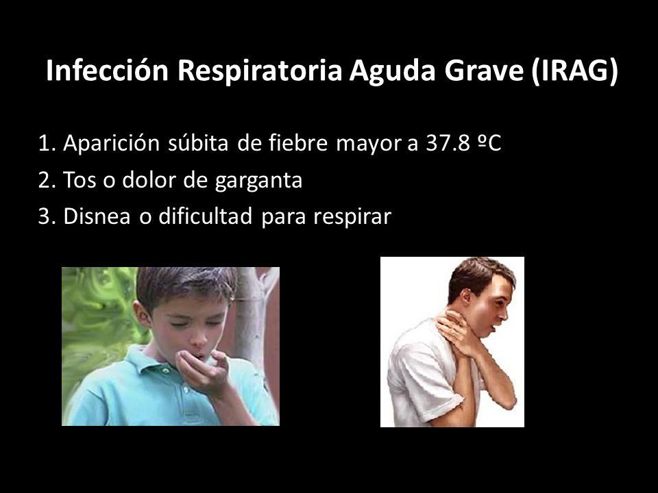 Infección Respiratoria Aguda Grave (IRAG)