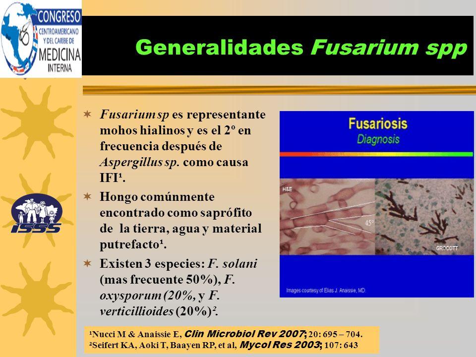 Generalidades Fusarium spp