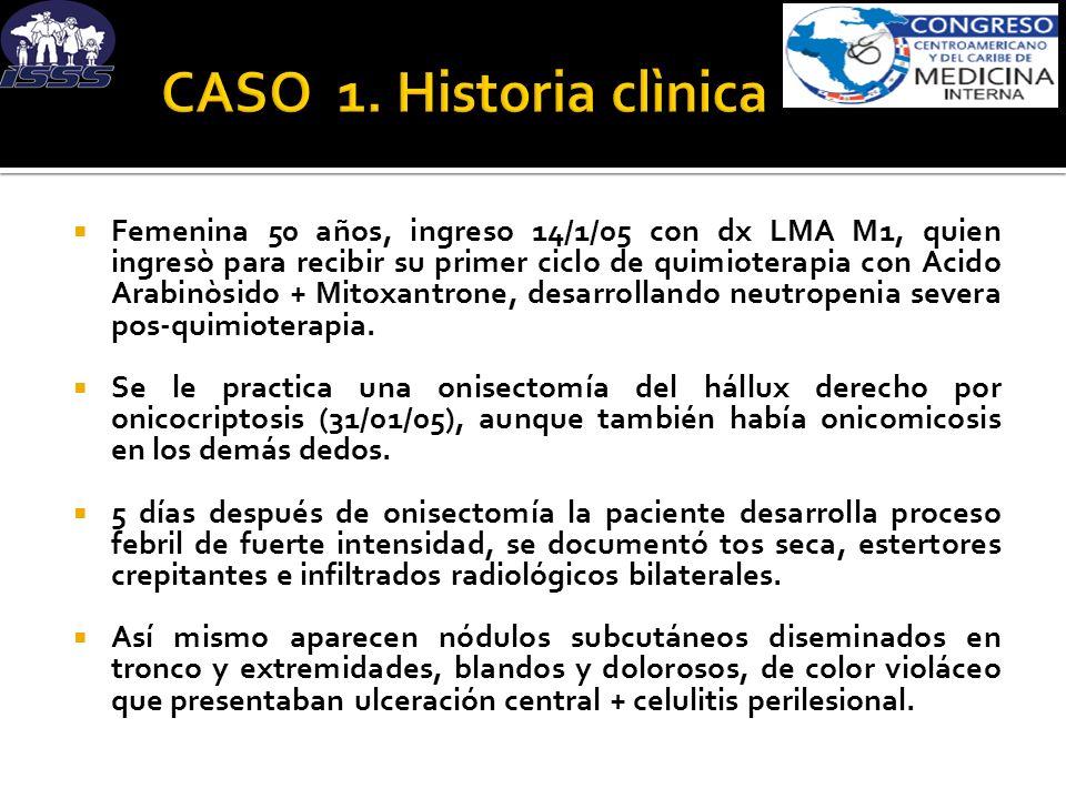 CASO 1. Historia clìnica