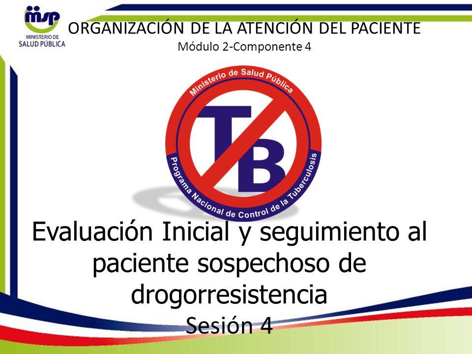 ORGANIZACIÓN DE LA ATENCIÓN DEL PACIENTE Módulo 2-Componente 4