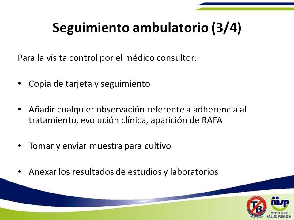 Seguimiento ambulatorio (3/4)