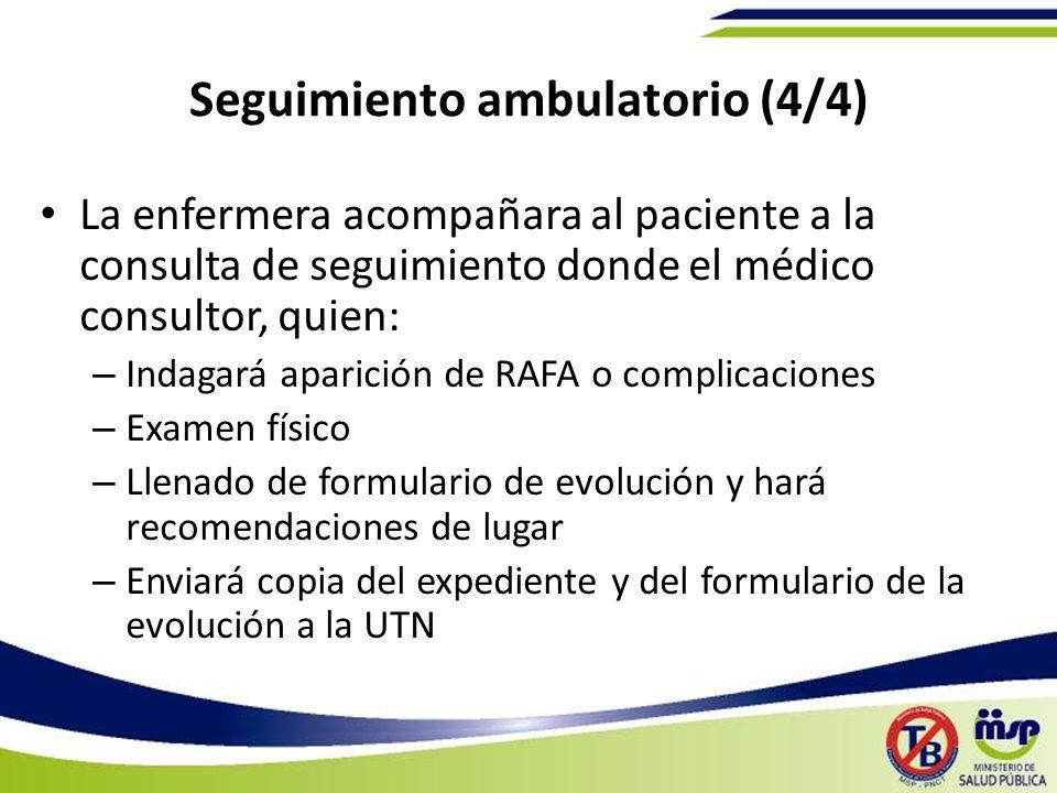 Seguimiento ambulatorio (4/4)
