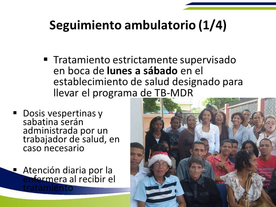 Seguimiento ambulatorio (1/4)