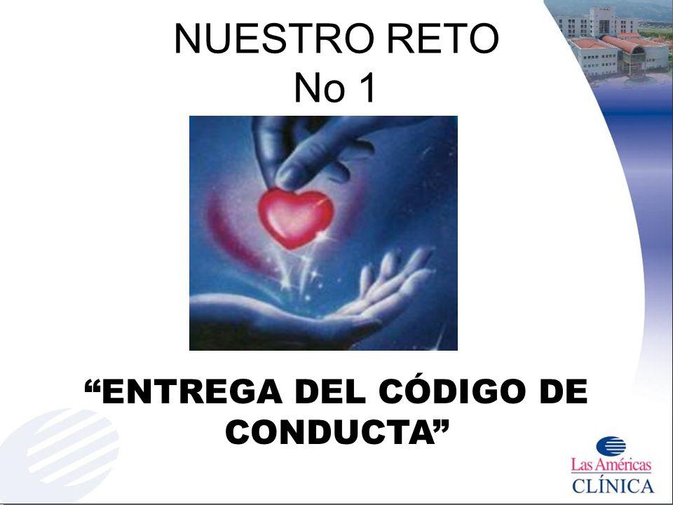 ENTREGA DEL CÓDIGO DE CONDUCTA