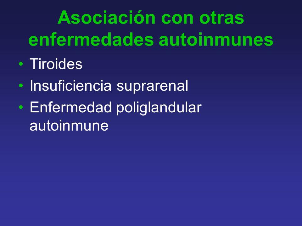 Asociación con otras enfermedades autoinmunes