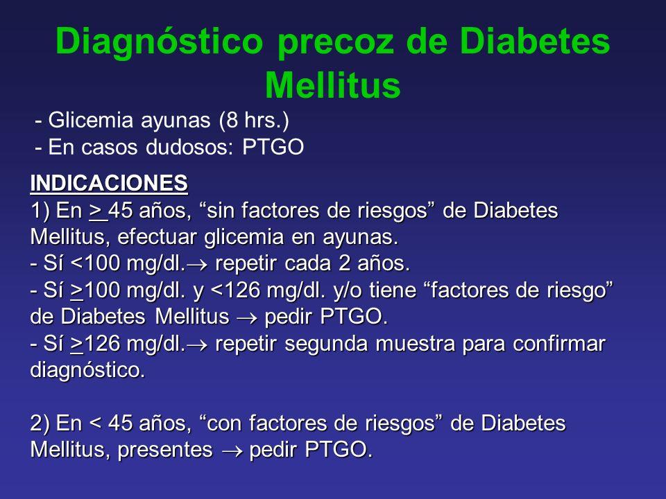 Diagnóstico precoz de Diabetes Mellitus