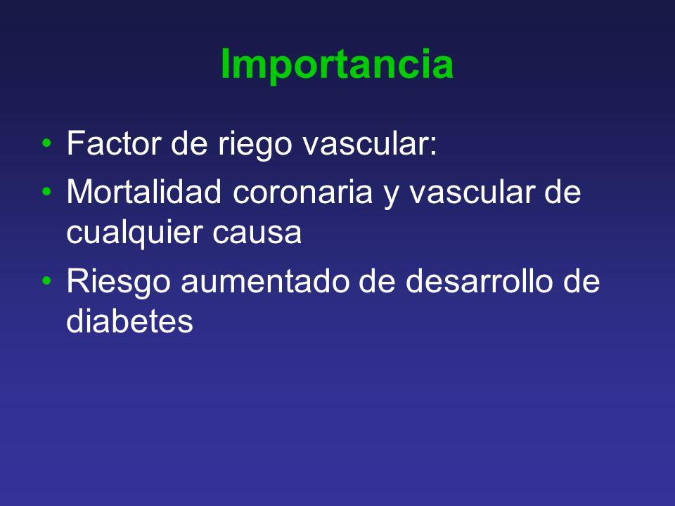 Importancia Factor de riego vascular: