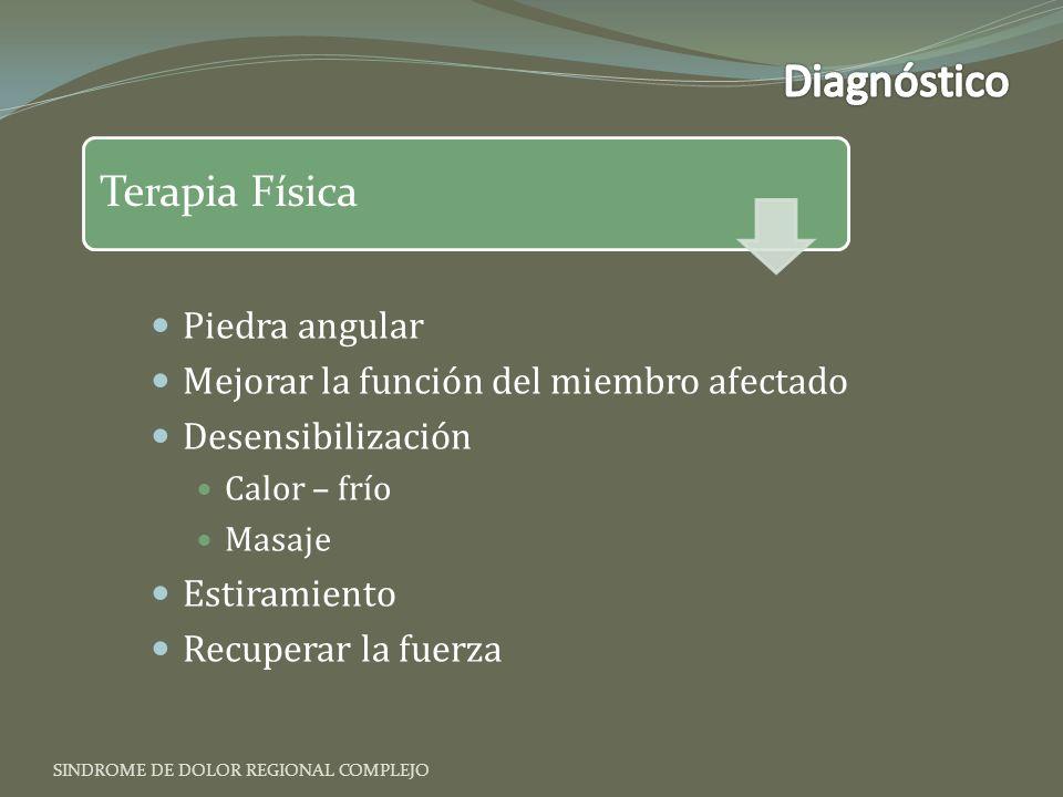 Diagnóstico Terapia Física Piedra angular