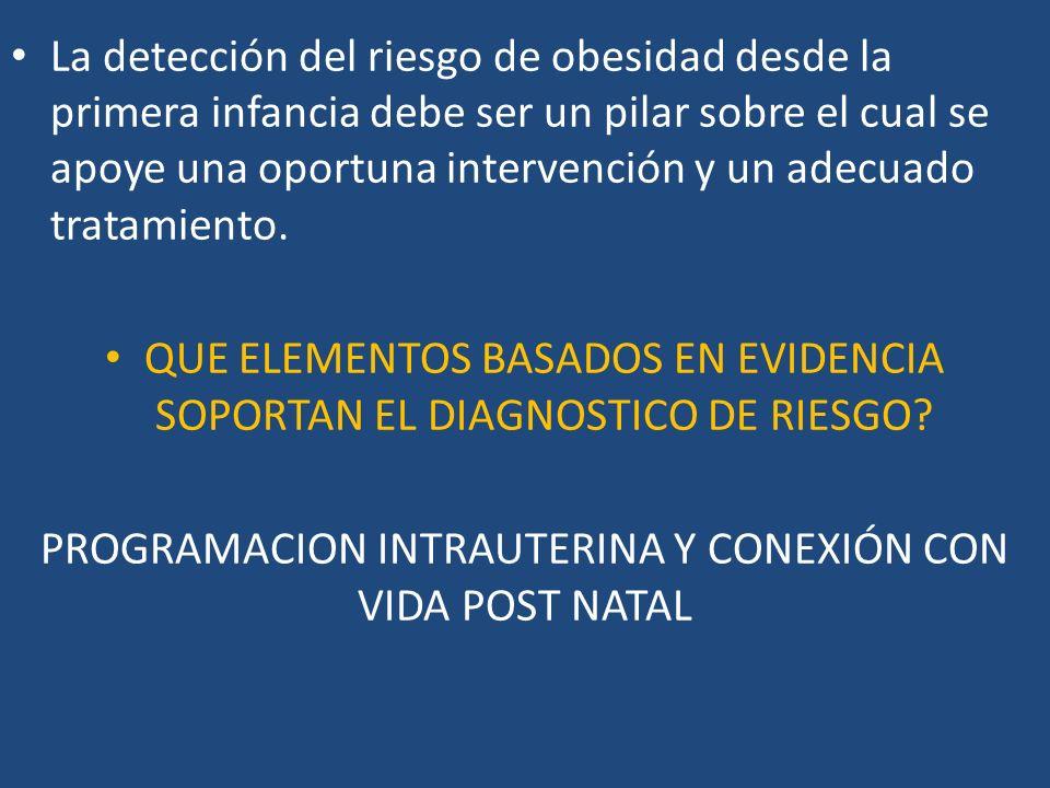 QUE ELEMENTOS BASADOS EN EVIDENCIA SOPORTAN EL DIAGNOSTICO DE RIESGO