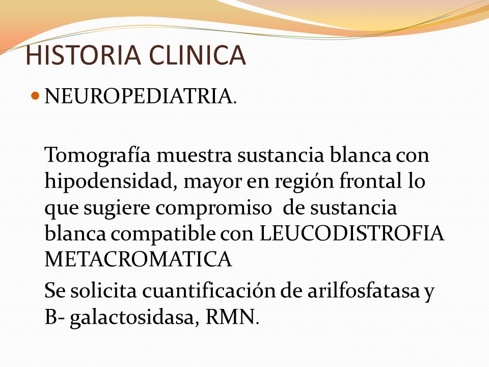 HISTORIA CLINICA NEUROPEDIATRIA.
