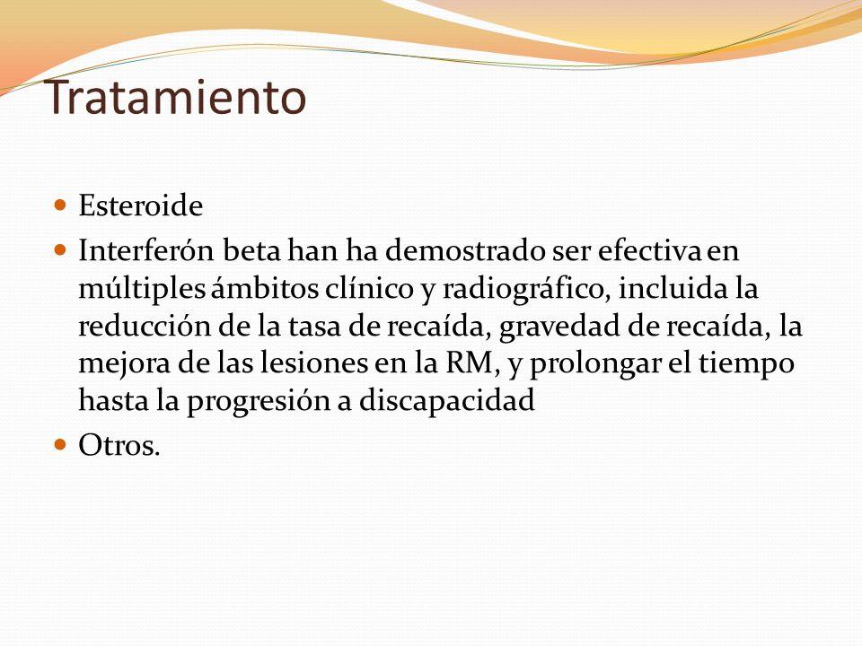 Tratamiento Esteroide