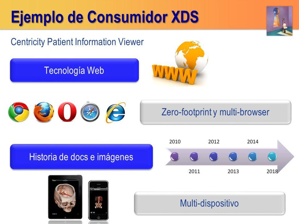 Ejemplo de Consumidor XDS