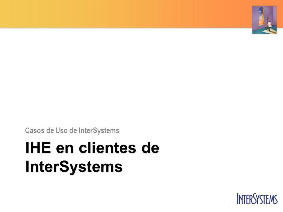 IHE en clientes de InterSystems