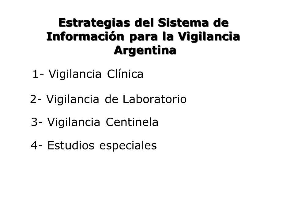 Estrategias del Sistema de Información para la Vigilancia