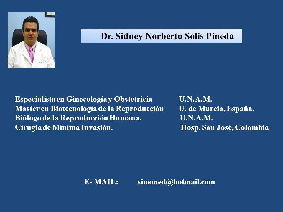 Dr. Sidney Norberto Solis Pineda