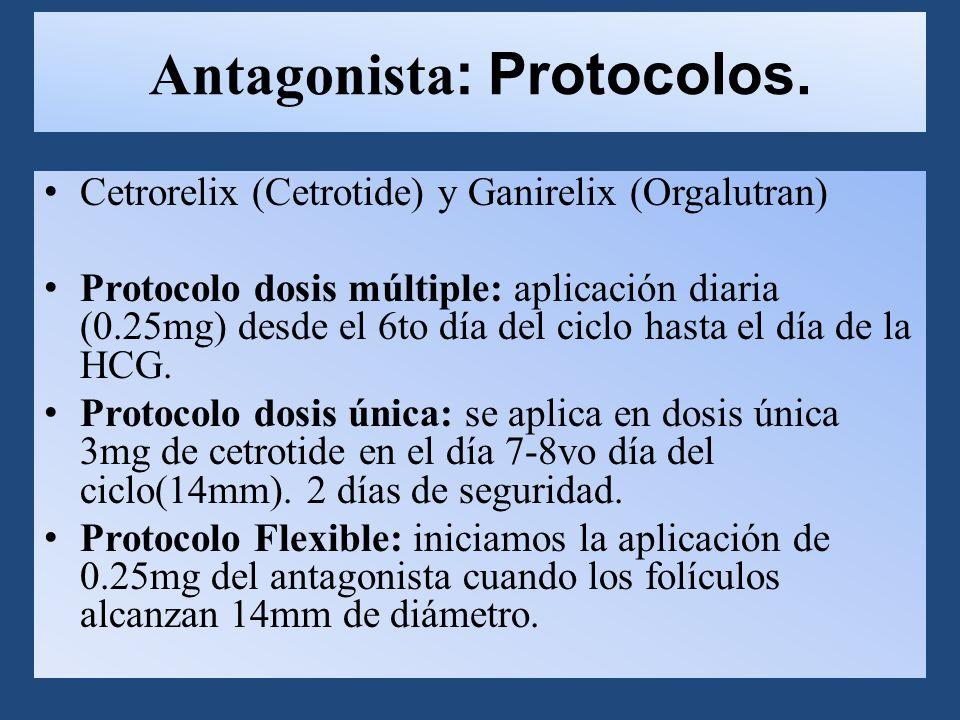 Antagonista: Protocolos.