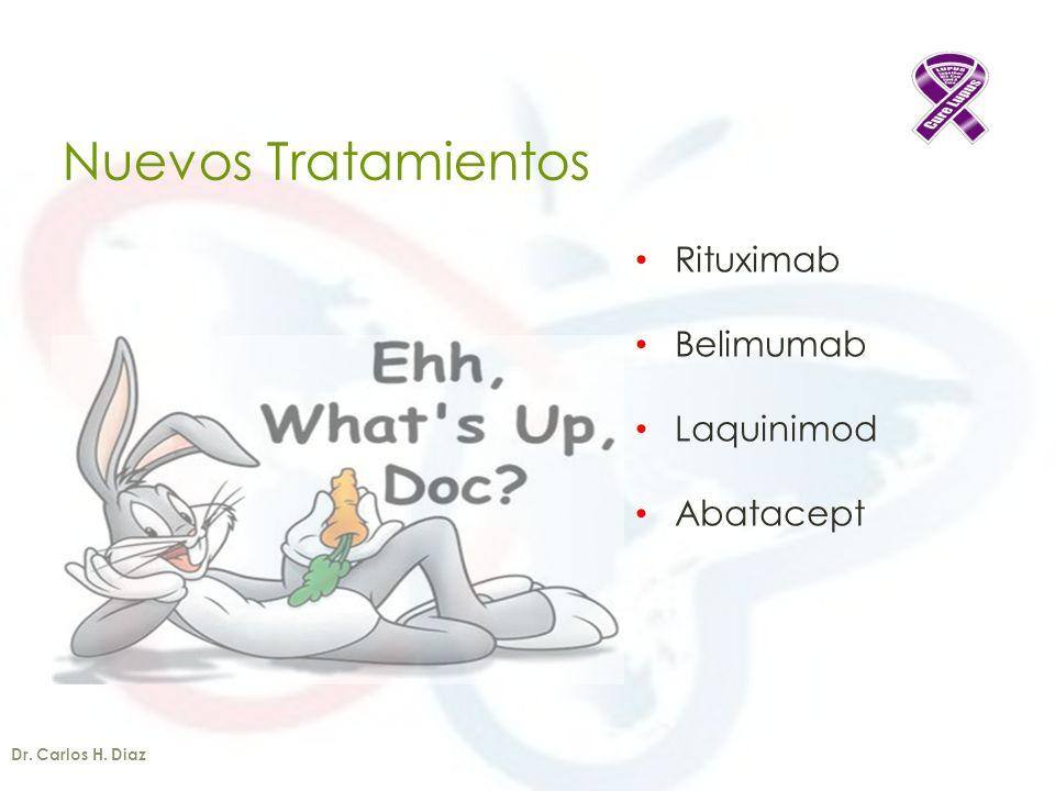 Nuevos Tratamientos Rituximab Belimumab Laquinimod Abatacept
